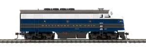 F3A Diesel B&O #1404 DCC Ready - HO Gauge