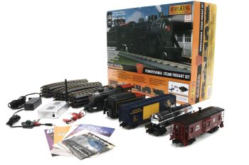 PRR 2-8-0 Steam Freight R-T-R Train Set w/Proto-Sound 3.0 WiFi