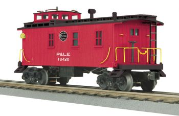 Woodsided Caboose - Pittsburgh & Lake Erie