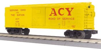 40' Steel BoxCar Akron Canton & Youngstown