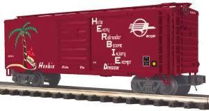 40' Steel BoxCar Missouri Pacific (HERBIE) - O Scale Premier