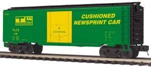 40' Steel Reefer Transport Leasing Company - O Scale Premier