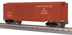 40' Double Door Box Car - Chesapeake & Ohio