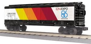 40' Steel BoxCar - Canadian National