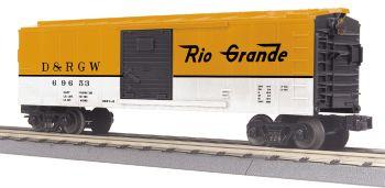 40' Steel BoxCar - Denver Rio Grande