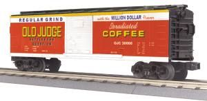 40' Steel BoxCar - Old Judge Coffee