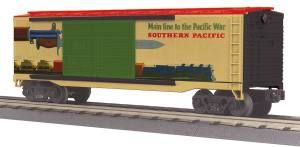40' Double Door Box Car - Southern Pacific