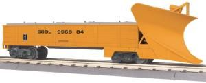 Heavy Duty Snowplow - British Columbia Railway