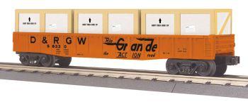 Gondola Car w/Crates - Denver & Rio Grande