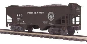 2-Bay Offset Hopper Car - Baltimore & Ohio - O Scale Premier