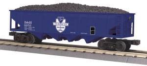 4-Bay Hopper Car - Delaware & Hudson
