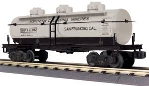 3-Dome Tank Car - California Wine