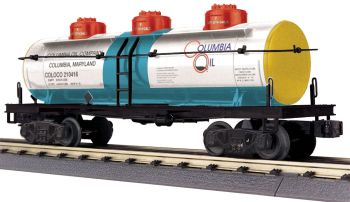 3-Dome Tank Car - Columbia Oil