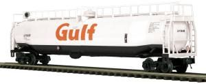 33K Gallon Tank Car - Gulf - O Scale Premier
