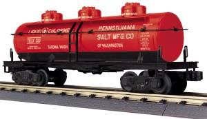 3-Dome Tank Car - Penn Salt