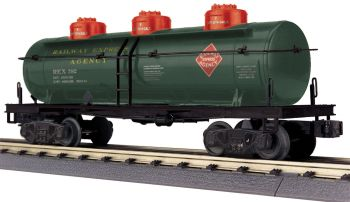 3-Dome Tank Car - Railway Express Agency
