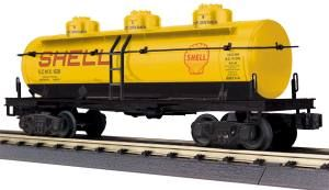 3-Dome Tank Car - Shell
