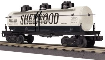 3-Dome Tank Car - Sherwood Refining