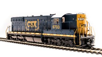 EMD SD7, CSX 9703, Boxcar Scheme, Paragon3 Sound/DC/DCC