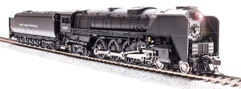 NYC Niagara S1b 4-8-4, Unlettered, Paragon3 Sound/DC/DCC, Smoke