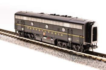 EMD F7A, PRR 9673B, DGLE Single Stripe, Paragon3 Sound/DC/DCC