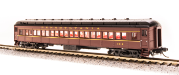 PRR P70 without AC, Tuscan Red w/ Buff Lettering & Stripes, Single Car #1263