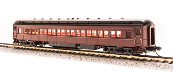 P70R Passenger Car, with Ice AC, Unlettered, Tuscan Red