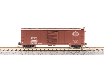 Steel Boxcar NYC #103248 w/Corrugated Ends  Pre-1955 Roman
