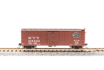 Steel Boxcar NYC #103634 w/Corrugated Ends  Post 1955 Goth