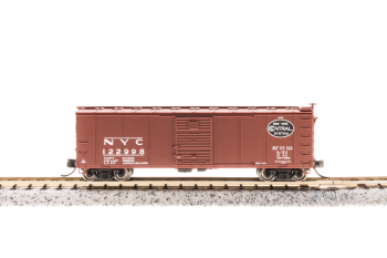 Steel Boxcar NYC #121334 w/Dreadnaught Ends  Post 1955 Gothic