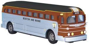 Die-Cast Bus - Boston & Maine