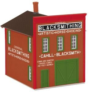 Cahill's Blacksmithing 2-Storey Livery Building