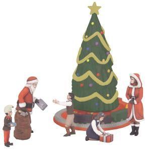 Christmas Figures - 6pk