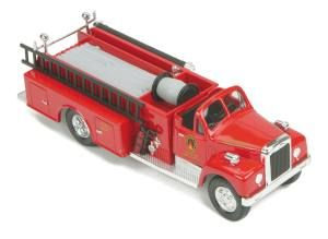 Cleveland Union Terminal Die-Cast Fire Truck