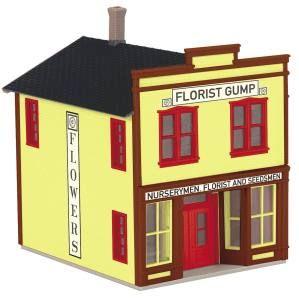 Florist Gump 2-Storey Store Front Building