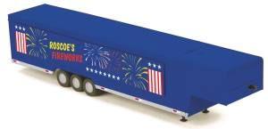 Roscoe's Fireworks Vendor Trailer