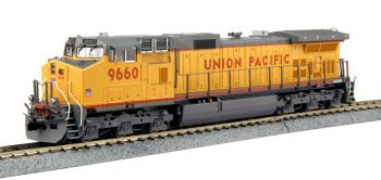GE C44-9W Union Pacific  #9660 w/ Ready to Run DCC #9660