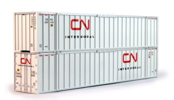 """Canadian National 53"""" Containers x 2   235321, 235416"""