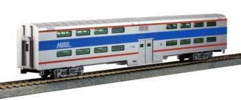 Pullman Bi-Level 4-Window Coach Chicago Metra #7780