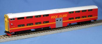 Pullman Bi-Level 4-Window Cab-Coach Rock Island #CC-116