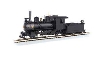 0-6-0 - Painted, Unlettered Black - DCC