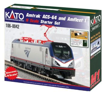 Amtrak ACS-64 & Amfleet I Starter Set