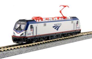 "Siemens ACS-64 Amtrak #600 ""David L. Gunn""  Pre-installed DCC"