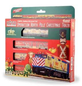 2015 Operation North Pole Christmas Train 4-Unit Set w/ Pre-Installed DCC