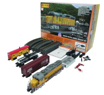 GP-20 Diesel R-T-R Freight Train Set w/Proto-Sound 3.0 - Union Pacific