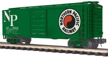 40' Box Car - Northern Pacific - O Scale Premier