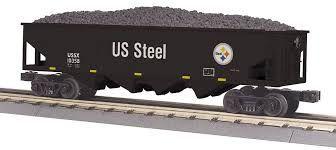 4-Bay Hopper Car - United States Steel
