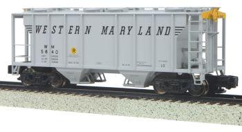 Ps-2 Hopper Car - Western Maryland -  S-Gauge