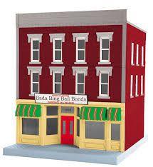 Bada Bing Bail Bonds - 3-Storey City Building