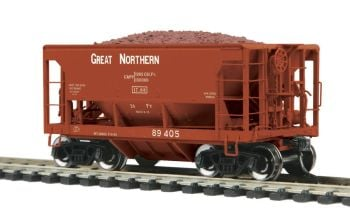 70-Ton Center Discharge Ore Car - Great Northern  #89405